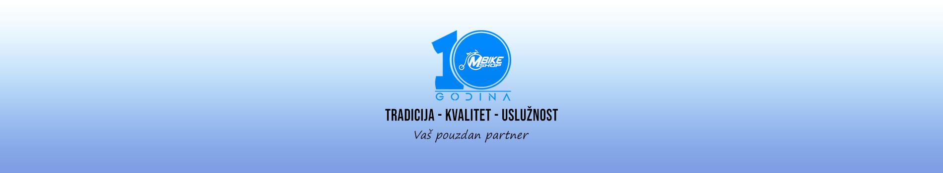 Najveca prodavnica bicikala i biciklisticke opreme u Bosni i Hercegovini sa Vama vec 10 godina.