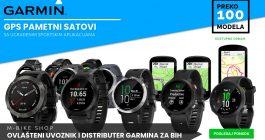 Garmin pametni GPS satovi u Bosni i Hercegovini.