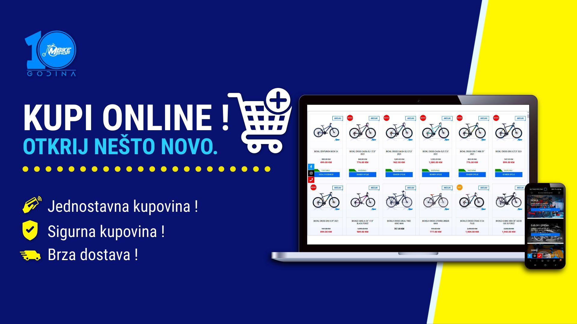 Najveci online shop za biciklizam i sport u Bosni i Hercegovini