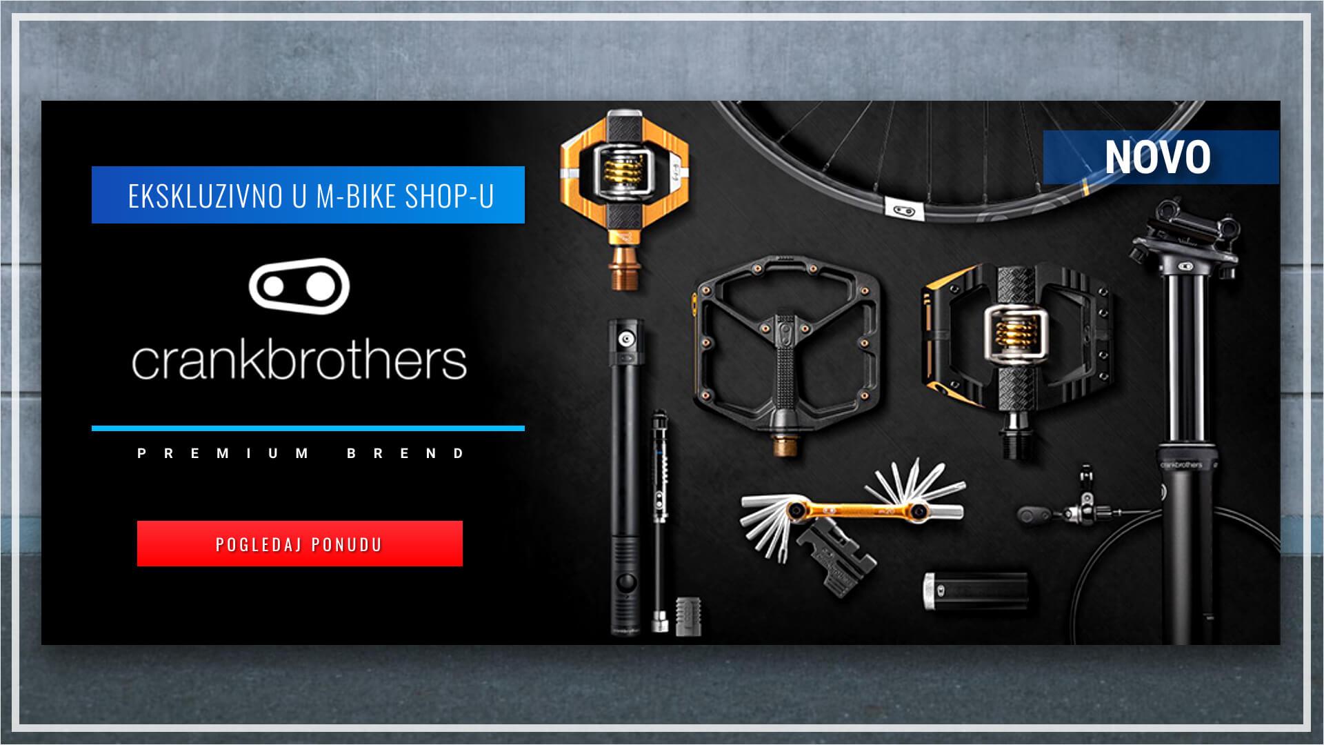 Crankbrothers dijelovi i oprema u M-Bike shop-u