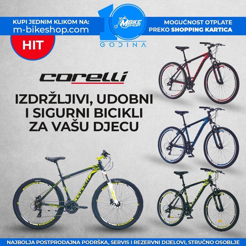 Izdržljivi, udobni i sigurni Corelli bicikli za vašu djecu
