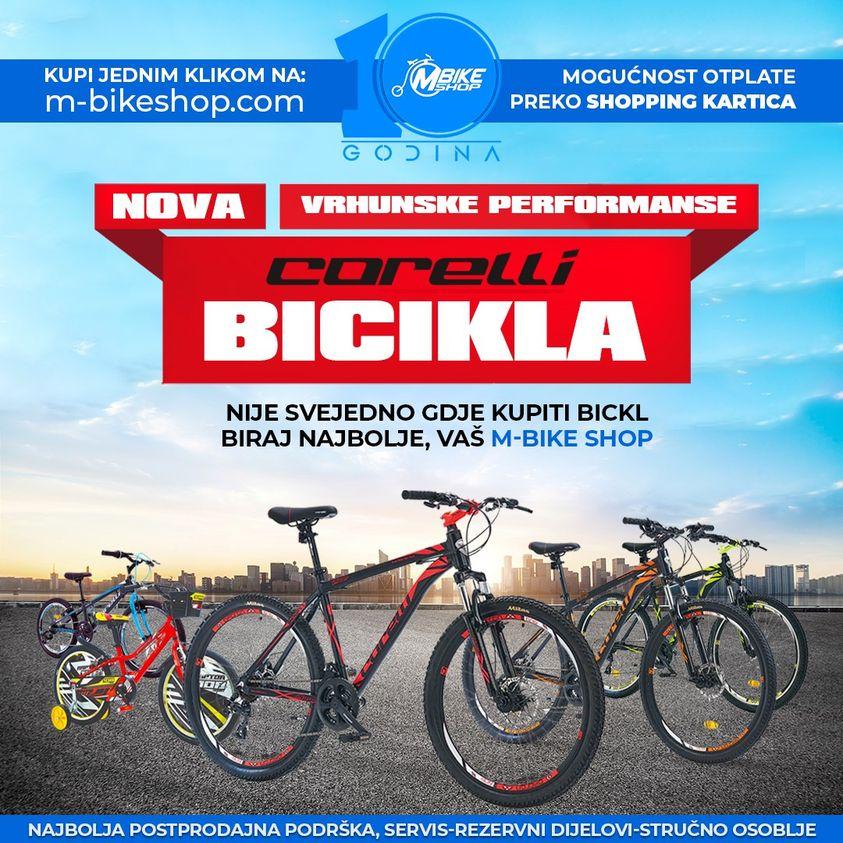Bicikli za sve uzraste Corelli