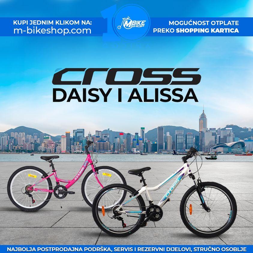 Djecija Cross bicikla serije Alissa