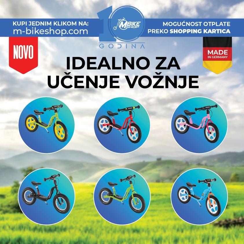 Najveci izbor djecijih bicikala i guralica u Bosni i Hercegovini
