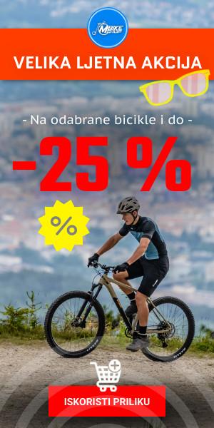 Velika ljetna akcija na bicikle u m-bike shop-u