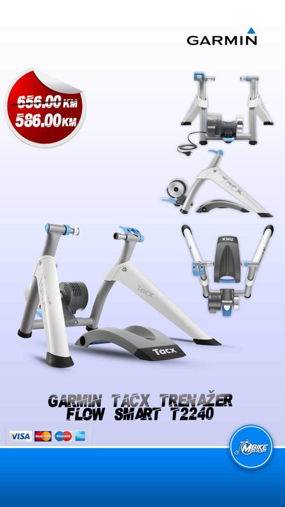 Garmin Tacx trenažer flow smart model T2240