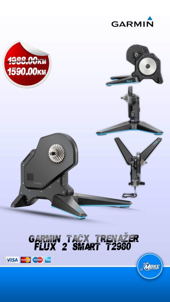 Garmin Tacx trenažer flux2 smart T2980 direct drive